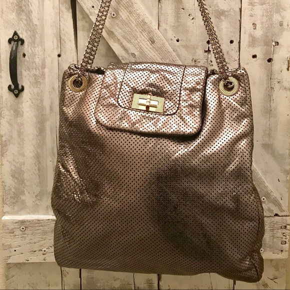 ec6e7a13bec9 CHANEL Handbags - Authentic CHANEL Large Drill Tote